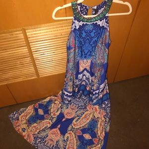 Anthropologie Printed Maxi Dress